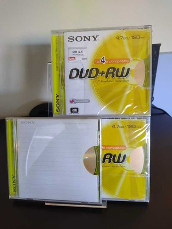 DVD+ ReWritable Sony
