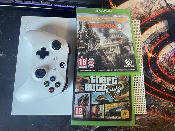Xbox one s + dwie gry