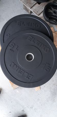 Obciążenia olimpijskie fi 51mm ELEIKO 15lbs