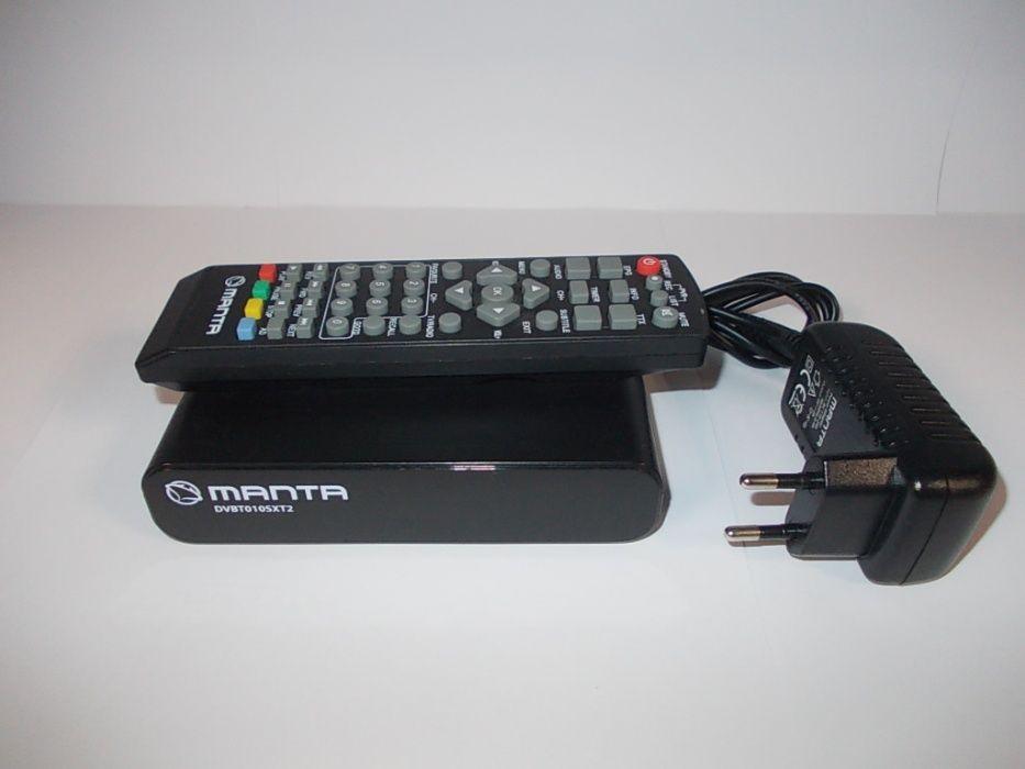 Dekoder telewizji naziemnej MANTA DVBT010SXT2 ! okazja Turek - image 1