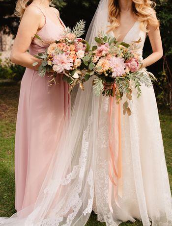 Sprzedam suknię ślubną rozmiar 32-34