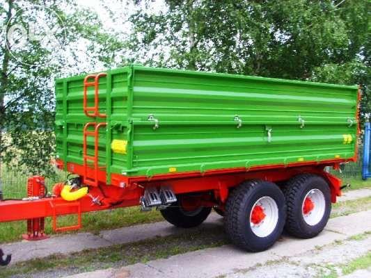 Przyczepa burtowa tandem PRONAR T663/2 7 t / 9,8 m³ DUŻY RABAT