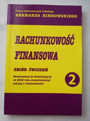 Bernard Binkowski Rachunkowość finansowa zbiór ćwiczeń