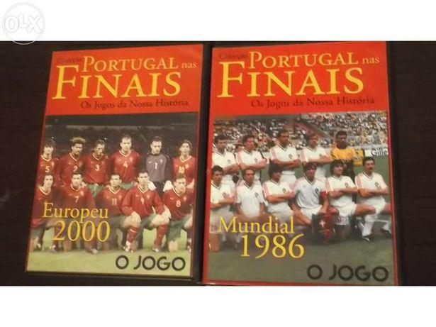 2 Dvds finais de portugal