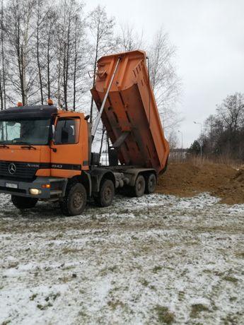 Ziemia z transportem na podwyższenie terenu Rzeszów i okolice