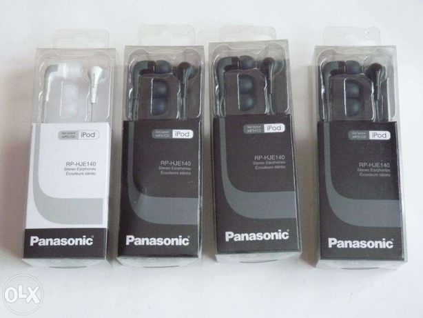 nowe słuchawki Panasonic rp-hje140