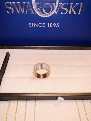 GLAMIRA Anel Sofi Ouro 585 Rosé / Safira branca