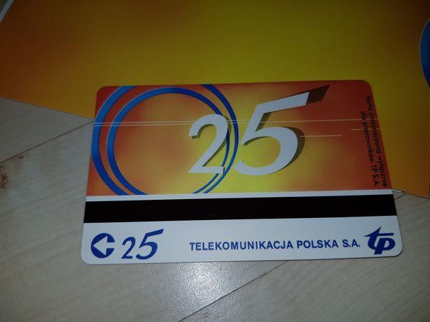 TP Łączy nas coraz więcej karta telefoniczna, limitowana 25 imp.
