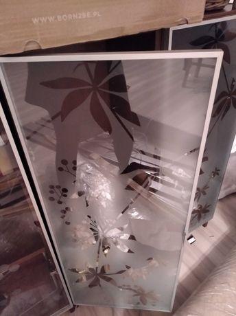 Szafka/ witryna Ikea brązowa