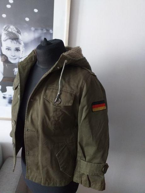 Niemiecka kurtka dla chłopca 128