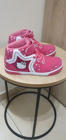 Adidasy Hello Kitty jesień 32/33 20cm raz ubrane