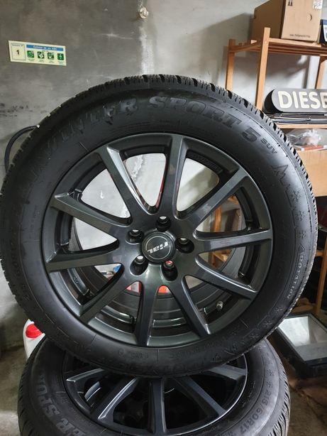 "Jantes 17"" Toyota ET 40 + 4 pneus 215/60R17"
