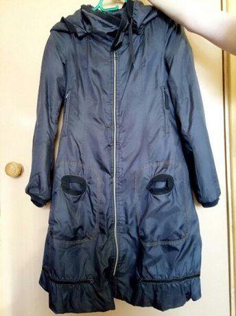 Оригинальный подростковый плащ-пальто на девочку.