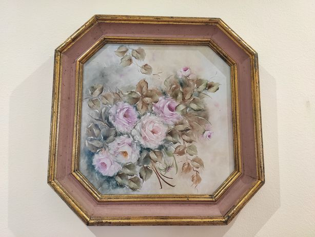 Quadros Antigos Flores