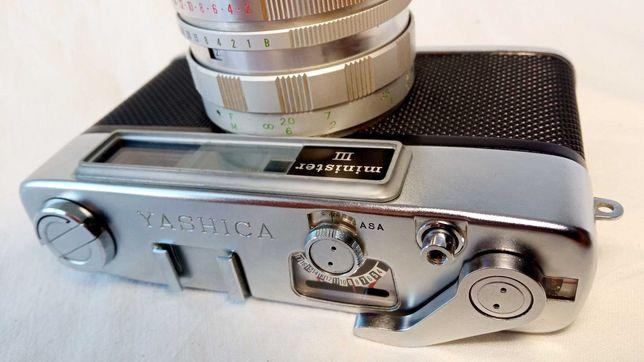 Дальномерный фотоаппарат Yashica Minister III Yashinon 45mm 2.8 35