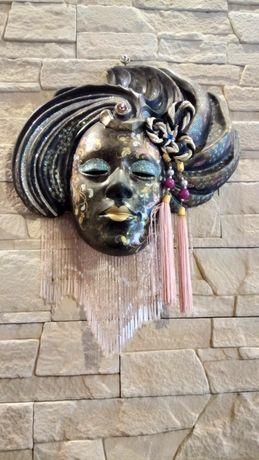 Maska  ozdobna, na ścianę