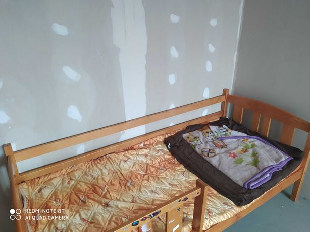 Łóżko drewniane 180 cm