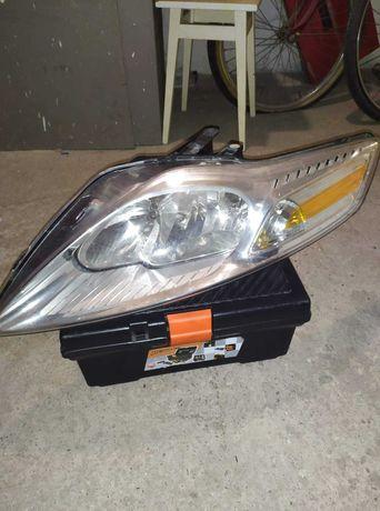 Lampa do Ford Mondeo MK4 i zabezpieczenie kół