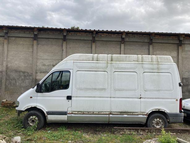Renault master do naprawy