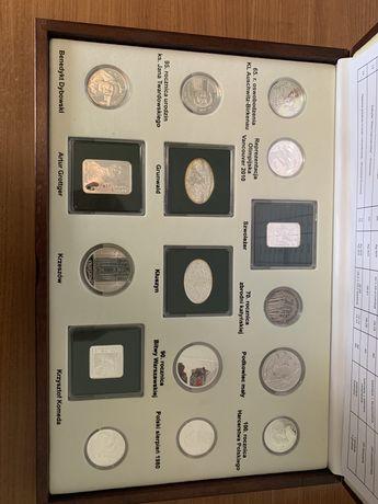 Srebrny zestaw rocznikowy 2010 srebro
