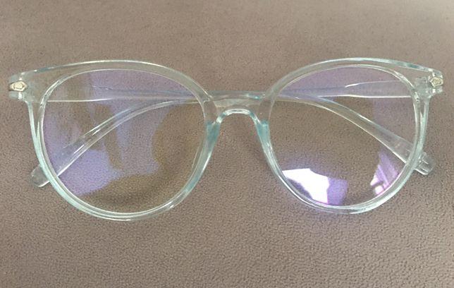 Okulary blokujące niebieskie światło kd komputera