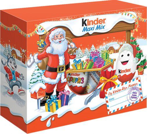 Новогодний набор Kinder Mix Посылка Новогодняя