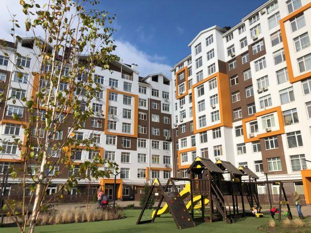 1-комнатная квартира с собственной террасой, метро Теремки