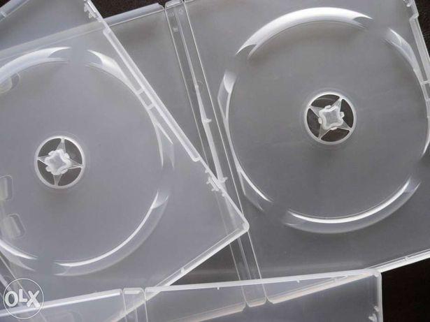 Caixas de DVD ( lote 25 ) 14mm