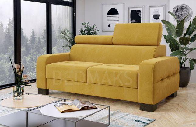 Sofa, kanapa z funkcją/ bez funkcji spania dwu- lub trzyosobowa