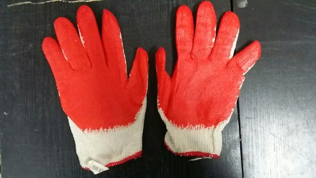 Cała paczka 10 par rękawice robocze wampirki oryginalne REJS rozm 9