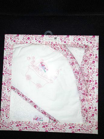 Caixa - Conjunto de toalha e luva - NOVO