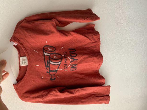 Bluzeczka Zara 74cm