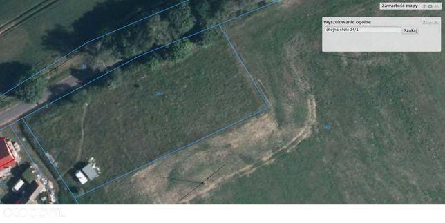 Na sprzedaż ziemia 0,3015 HA Stoki 7km od Chojna