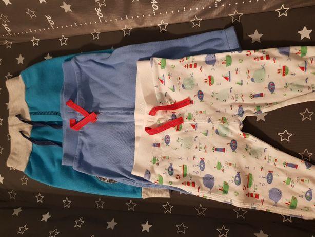 4szt Spodnie r.68 f&f pepco - cena za całość