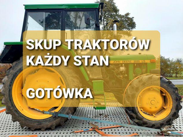 Skup traktorów ciągników rolniczych za gotówkę