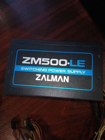 Блок живлення 500W/блок питания Zalman Zm500-Le