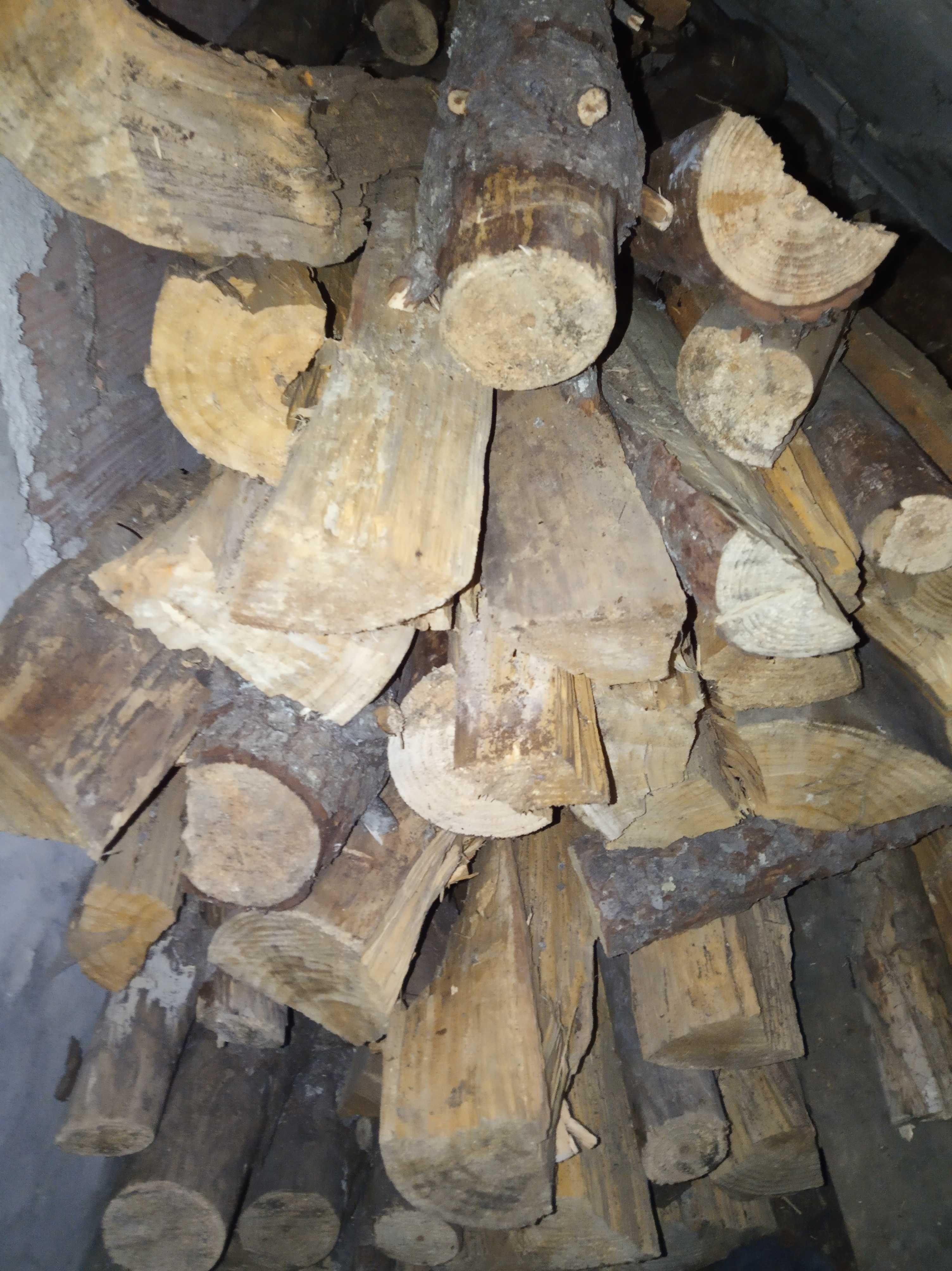 Vendo lenha seca de pinheiro ao saco