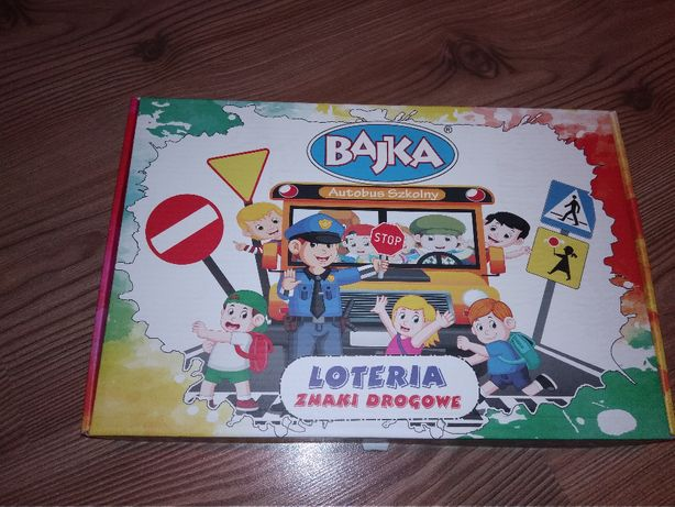 Gra - znaki drogowe loteria - bajka