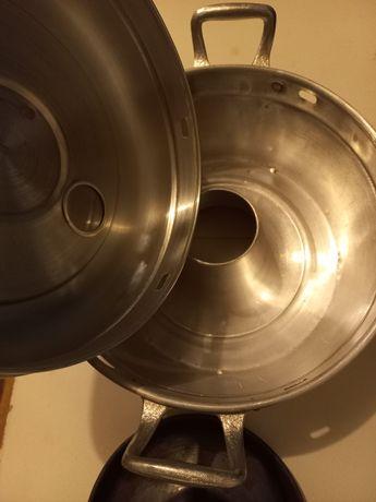 Panela/forma para fazer bolo no fogão a gás