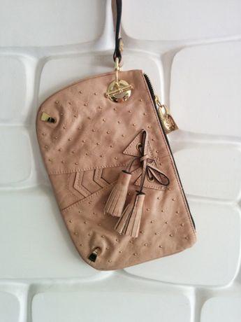 NOWA torebka kopertówka z kokardką MISCHA
