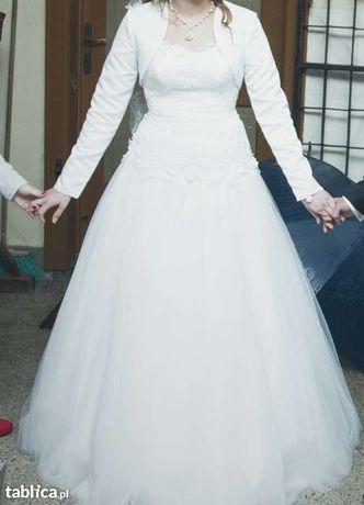 suknia ślubna ELIZABETH PASSION E-2337T stan dobry gorset