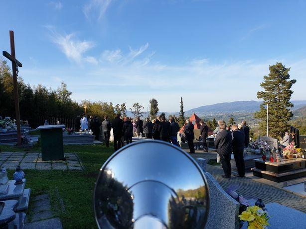 Cisza trąbka trębacz na pogrzeb. Żywiec, Jeleśnia, Milówka i okolice.