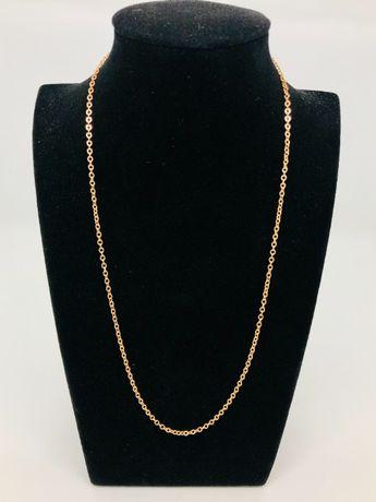 PIĘKNY złoty łańcuszek pr.585 14K / waga: 3,62 gram / długość: 45 cm