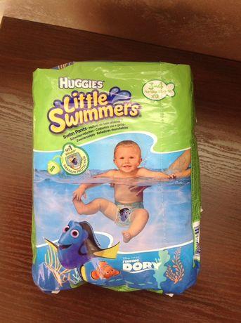 Підгузки-трусики Huggies Little Swimmer 3-4 12 шт.