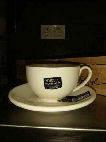 Чашки чайные с блюдцами 250 мл