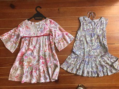 vestido MARIA GORDA 7 e 8 anos