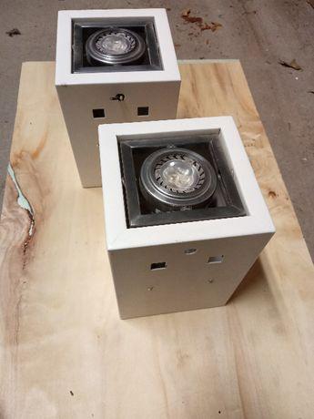 Dwa kinkiety LED dwustronne (wysyłam)
