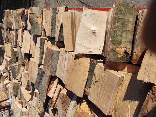 Drewno kominkowe-opalowe suche grab- buk-jesion itp