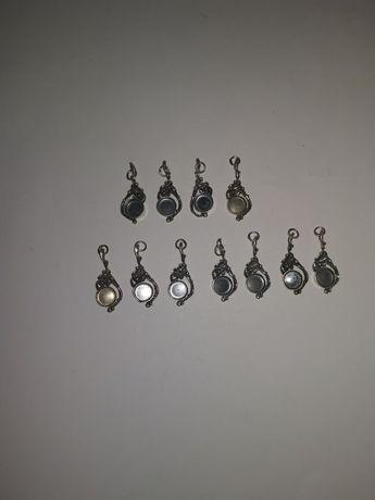 Cargi, bazy do wisiorka lub kolczyków srebro 925