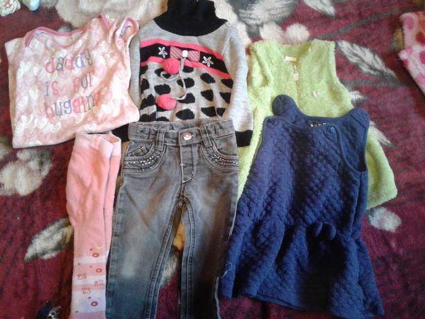 Пакет речей на дівчинку від 6 до 1 року